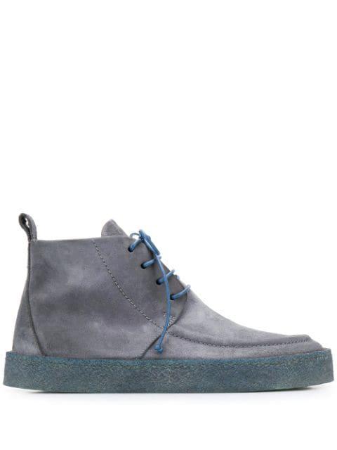 Marsèll Vitro Denim Scuro Boots In Blue