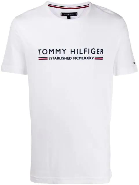 Tommy Hilfiger Mcmlxxxv T In White