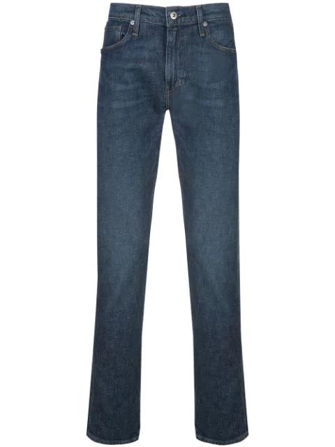 Levi's 511 Slim Selvedge Jeans In Blue