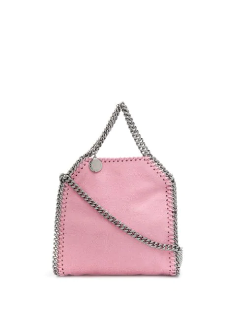 Stella Mccartney Small Falabella Tote In Pink