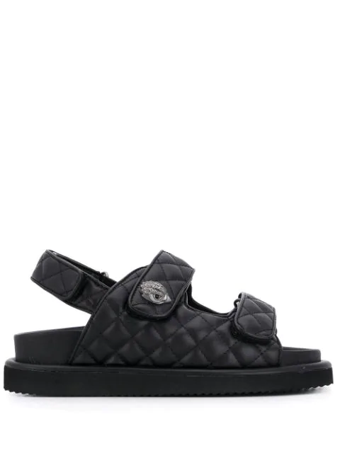 Kurt Geiger Women's Orson Slingback Sandals In Black