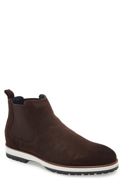 Ike Behar Men's Liam X Chelsea Boots Men's Shoes In Brown