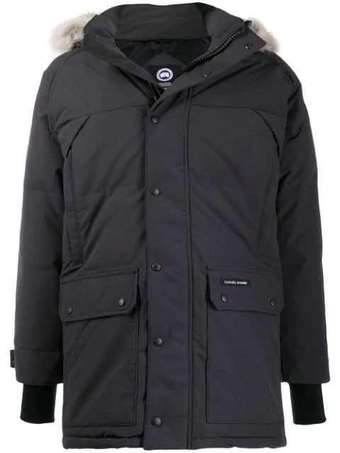 Canada Goose 'emory' Parka In Blue