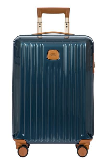 Bric's Capri Wheeled Carry-on In Night Blue