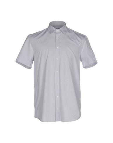 Joseph Solid Color Shirt In Light Grey