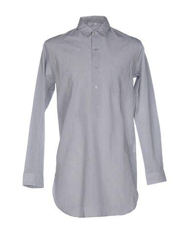 Jil Sander Striped Shirt In Grey