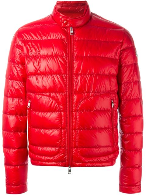 Moncler 'acorus' Padded Jacket In Red