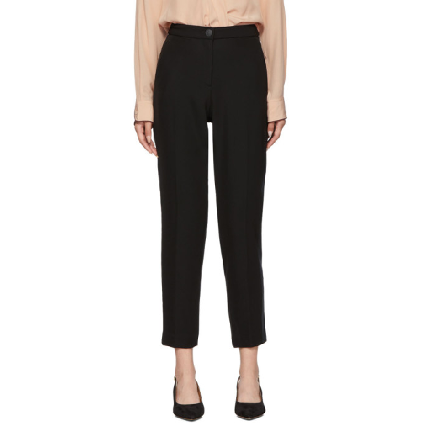 Rag & Bone Rag And Bone Black Meki Side Stripe Trousers In 1 Black