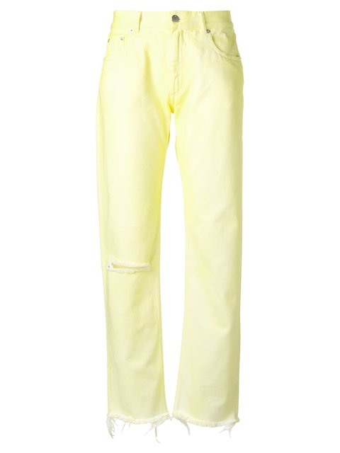 Alyx 1017  9sm Leg Pocket Trousers - Yellow