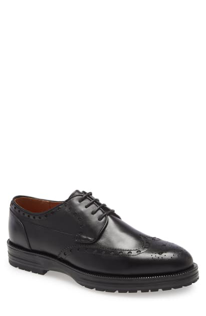 Ike Behar Men's Rockrunner Oxfords Men's Shoes In Black