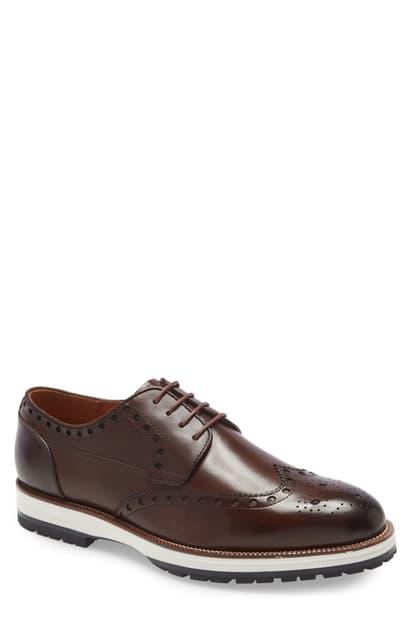 Ike Behar Men's Rockrunner Oxfords Men's Shoes In Brown