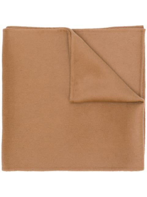Totême Fine-knit Scarf In Brown