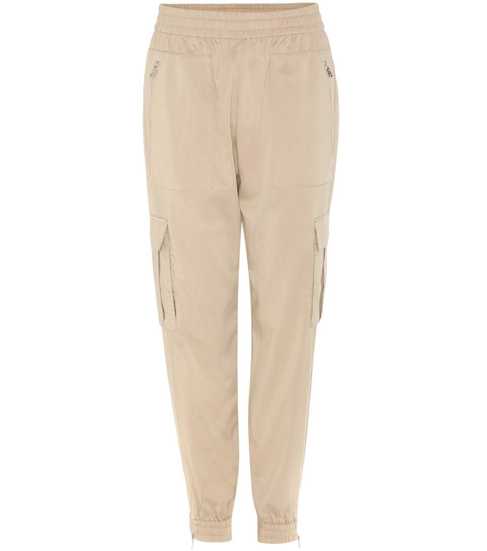 Polo Ralph Lauren Twill Track Pants In Beige