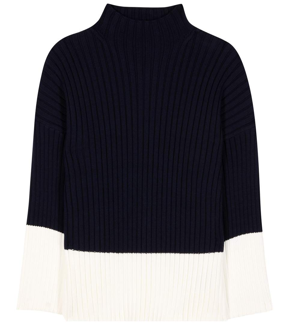Polo Ralph Lauren Button-back Crew-neck Cotton Sweater In Lright Eavy