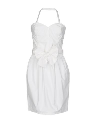 Love Moschino Short Dress In White
