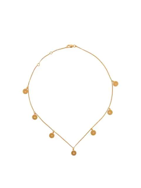 Rachel Jackson 'eternal Sun' Halskette In Gold