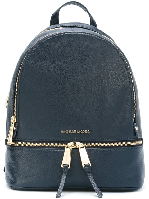 337c35505d36 Michael Michael Kors Extra Small Rhea Zip Backpack In Blue   ModeSens