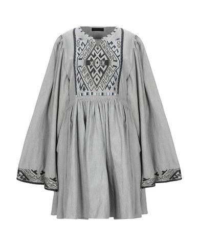 Diesel Black Gold Short Dress In Grey