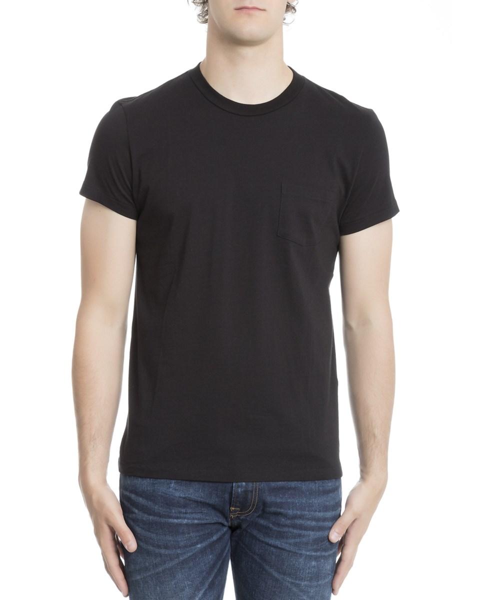 Tom Ford Pocket-detail Cotton T-shirt In Black