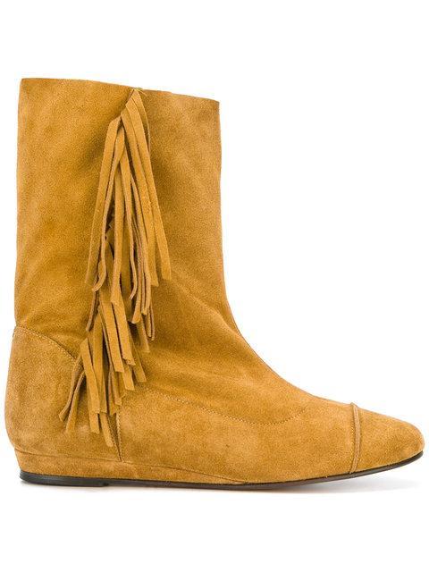 JÉrÔme Dreyfuss Paz Boots - Orange