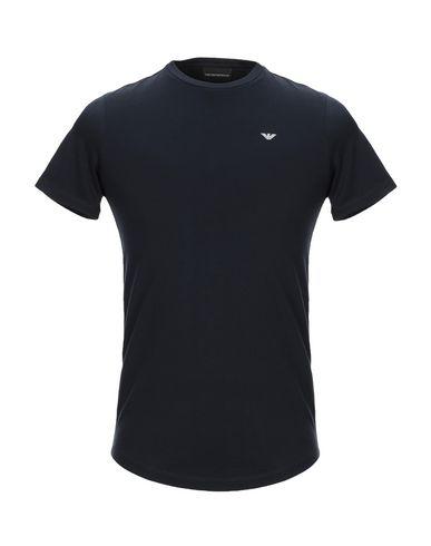 Emporio Armani Man Jersey T-shirt T-shirt In Navy