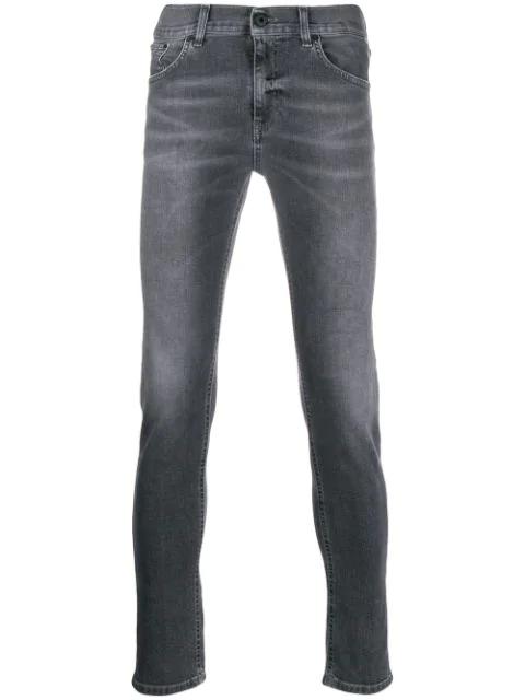 Dondup Skinny Jeans In Gray