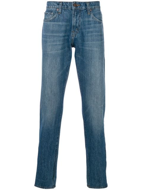 J Brand Kane Straight Fit Jeans In Blue