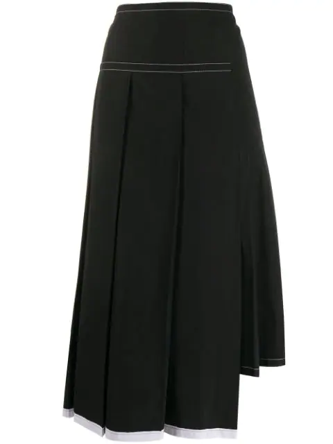 Marni Reconstructed Skirt In Black