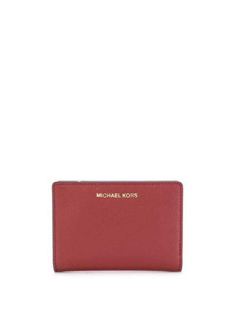 Michael Michael Kors 'jet Set' Portemonnaie In Red