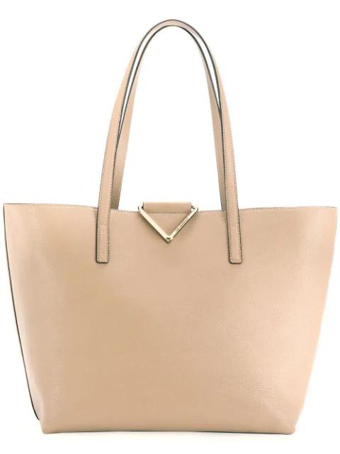 Karl Lagerfeld K/vektor Tote Bag In Neutrals