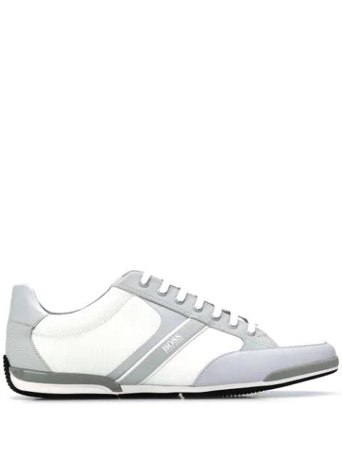 Boss Hugo Boss Zweifarbige Sneakers In Grey