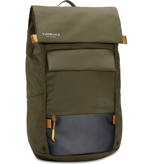Timbuk2 Robin Water Resistant Laptop Backpack In Olivine
