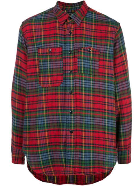 Engineered Garments Hemd Mit Karomuster In Red