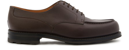 Jm Weston Le Golf Shoes In Marron Meleze