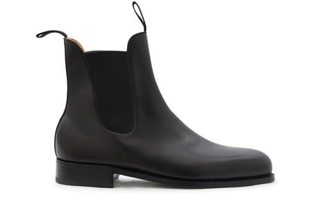 Jm Weston Le Cambre Chelsea Boot In Noir