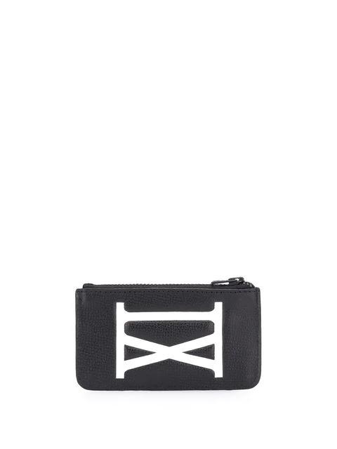 Ami Alexandre Mattiussi Zipped Card Holder In 001 Noir