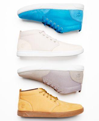 3cc8d3b4 Timberland Men's Groveton Plain Toe Chukka Boots Men's Shoes In Steeple  Grey Canvas