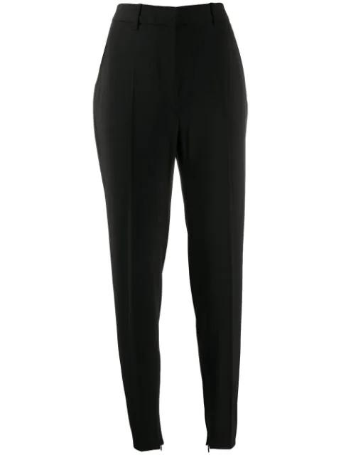 Barbara Bui High-rise Skinny Trousers In Black