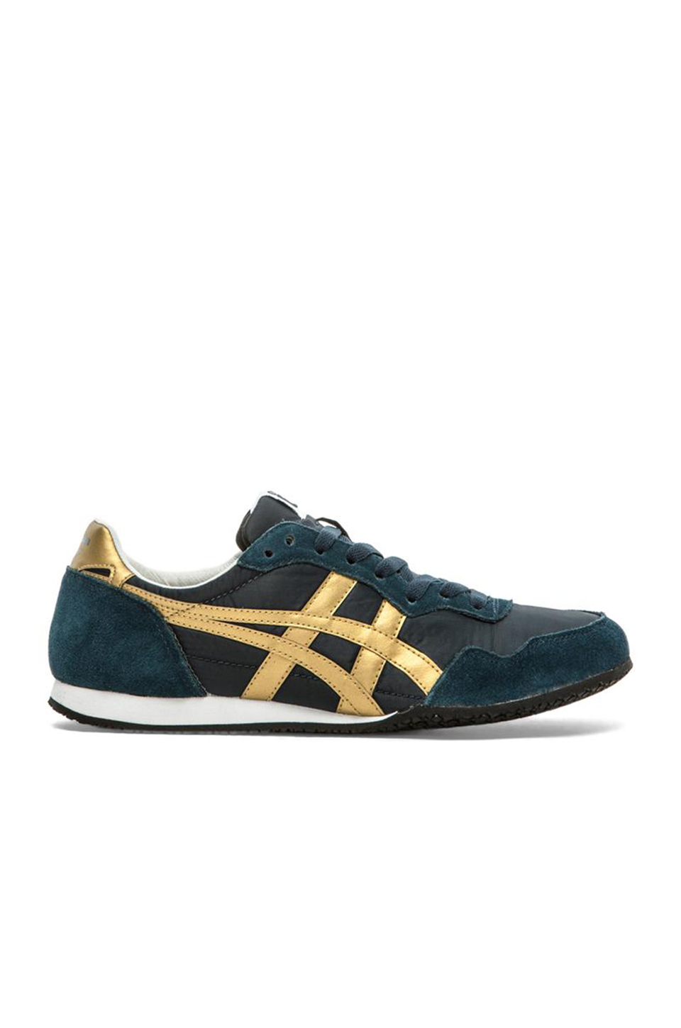 reputable site 46f0d a8ac9 Onitsuka Tiger Serrano In Navy & Gold