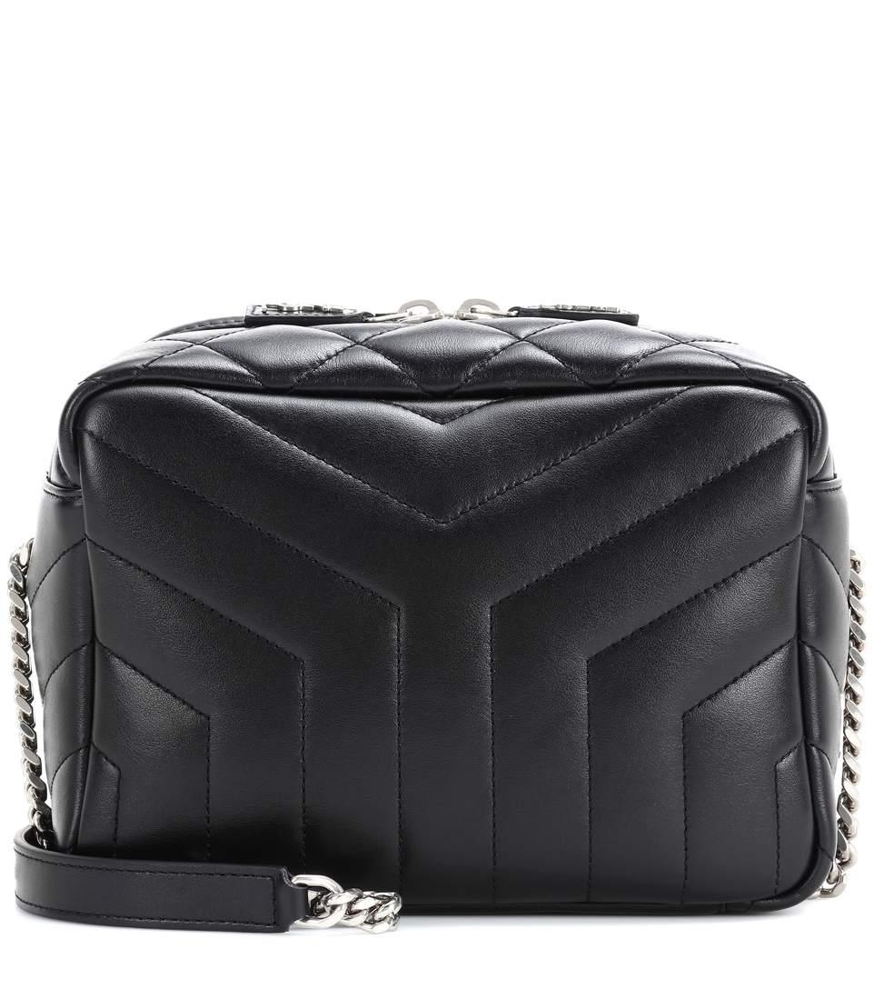 be8639bd1 Saint Laurent Classic Small Loulou Monogram Shoulder Bag In Eero ...