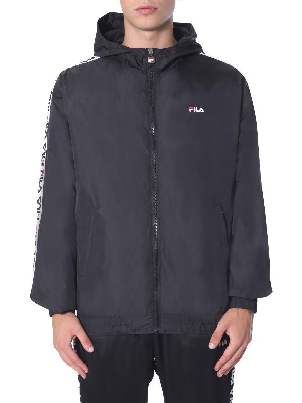Fila Wind Jacket In Black