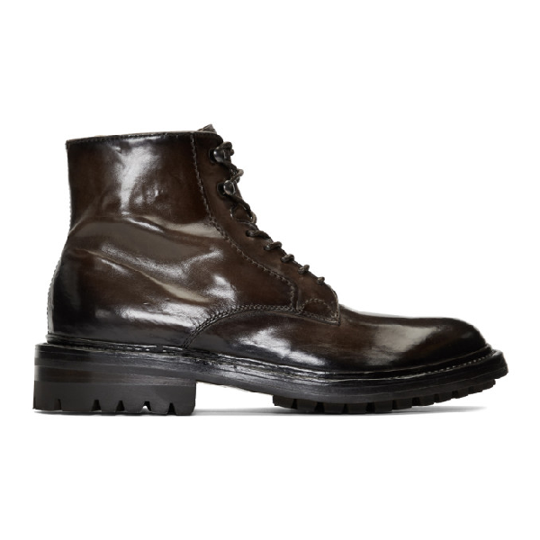 Officine Creative Brown Sheffield 11 Boots