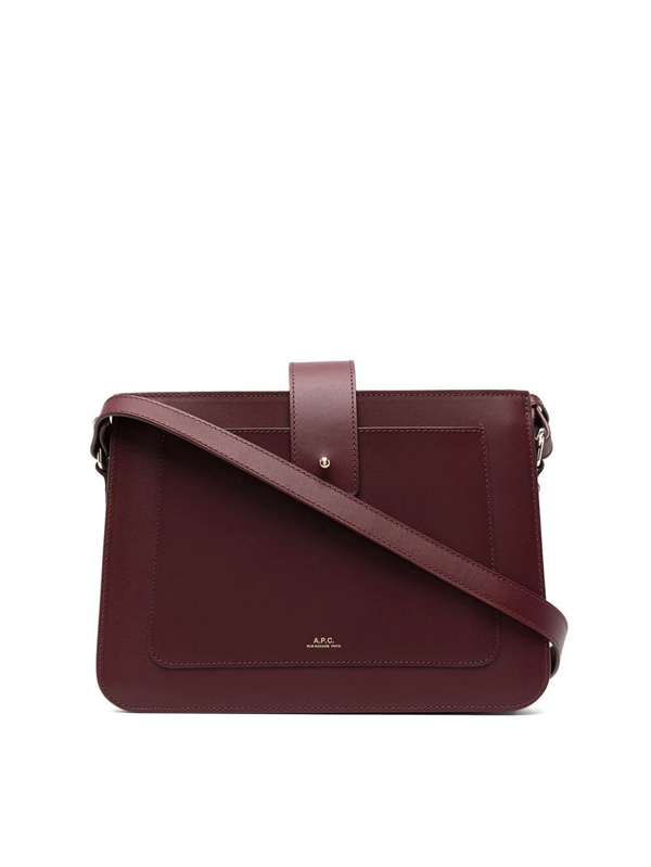 A.p.c. Albane Bag In Red