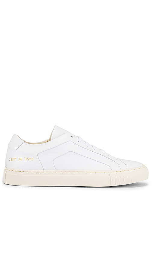 Common Projects Achille Trainers In White