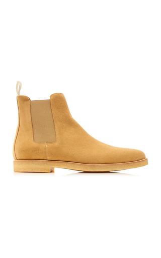 Common Projects Suede Chelsea Boots In Neutral