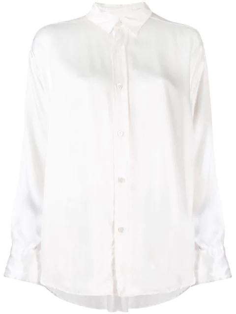 Katharine Hamnett Loose Fit Blouse In White