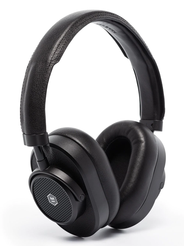 Master & Dynamic Black Mw65 Active Noise Cancellation Wireless Headphones