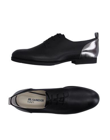 Jil Sander Lace-Up Shoes In Black