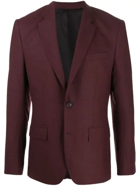 J.lindeberg Hopper Single-breasted Jacket In E324 Dark Mocca