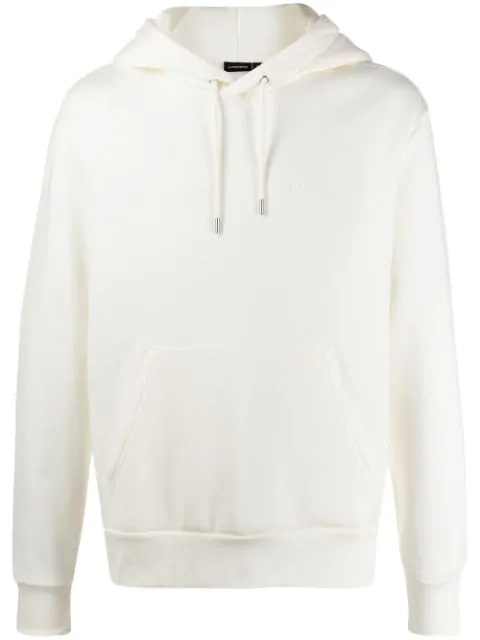 J.lindeberg Chip Embroidered Logo Hoodie In Neutrals